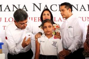 El subsecretario de Prevención y Promoción de la Salud, Pablo Kuri Morales, inauguró la Tercera Semana Nacional de Salud 2015, en la ciudad de Tepic, Nayarit