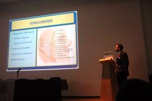 Tercer Seminario de Inmersión, Tema : Nervio Facial. En la Foto. Dr. Pablo Arrieta, Dra. Fabiola Gonzalez, Dr. Jorge Burgos y el Dr. Alejandro Cardenas.