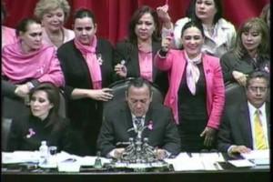 Cámara de Diputados convoca a concientizar y no escatimar esfuerzo alguno para abatir el cáncer de mama