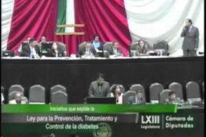 Iniciativa por la que se expide la Ley para la Prevención, Tratamiento y Control de la Diabetes