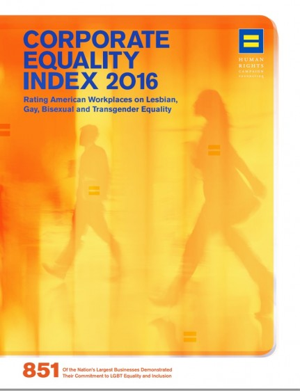 Corporate Equality Index 2016
