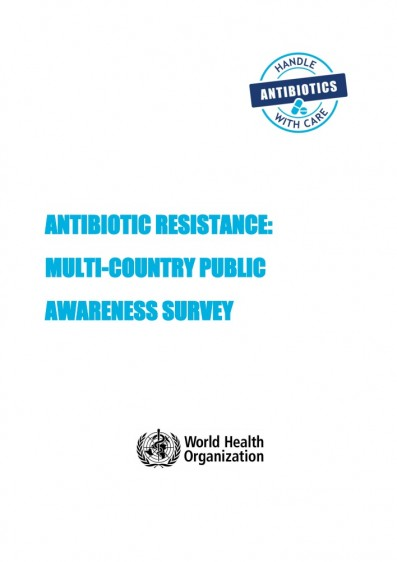 Antibiotic resistance: Multi-country public awareness survey