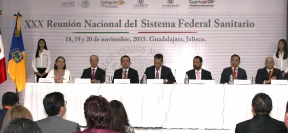 El Secretario General de Gobierno de Jalisco, Roberto López Lara, inauguró la XXX Reunión Nacional del Sistema Federal Sanitario