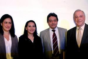 En la foto Dr Ivone Mayer, Dra Lizette Hernandez CARRANCO DR JORGE SALAS HERNADEZ DR ANTONIO SODA MEHRY DRA LISETTE CRISTERNA SANCHEZ