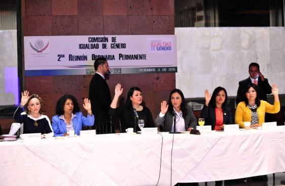 Aprueba Comisión de Igualdad de Género su programa anual de trabajo