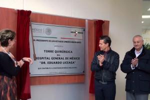 Durante la primera semana de este año, el Presidente Enrique Peña Nieto puso en marcha infraestructura médica con una inversión de mil 980 millones de pesos
