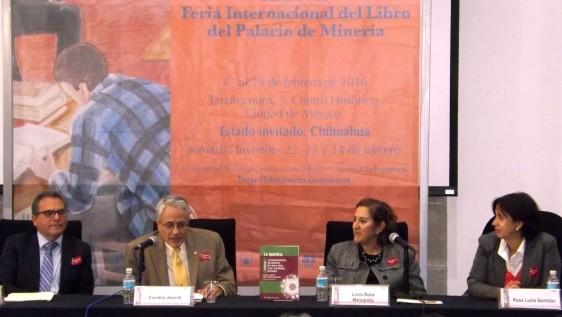 El investigador del Cinvestav Eusebio Juaristi Cosío es uno de los coordinadores del libro, presentado en el marco de la XXXVII Feria Internacional del Libro del Palacio de Minería