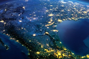 México desde el espacio