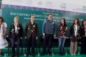 El Gobernador de Hidalgo, José Francisco Olvera Ruíz, reconoce y agradece el apoyo del IMSS a las comunidades vulnerables.