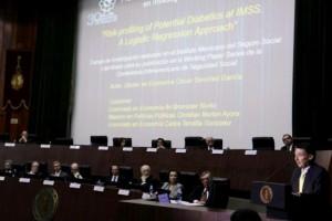 El evento tuvo lugar en el Auditorio de la Academia Nacional de Medicina de México