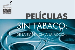 """Portada del informe """"Películas sin tabaco: de la evidencia a la acción"""""""