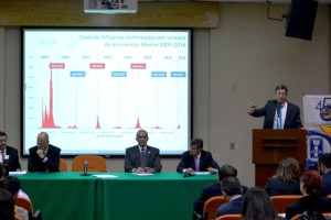 También participaron el Director de Prestaciones Médicas del IMSS, José de Jesús Arriaga Dávila, y el Director Médico del ISSSTE, Rafael Manuel Navarro Meneses.