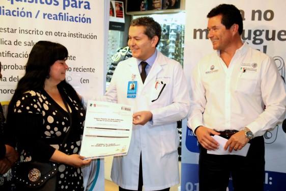 Alianza del REPSS con hospitales públicos y privados; podrán acceder a diversas opciones de salud afiliados al Seguro Popular