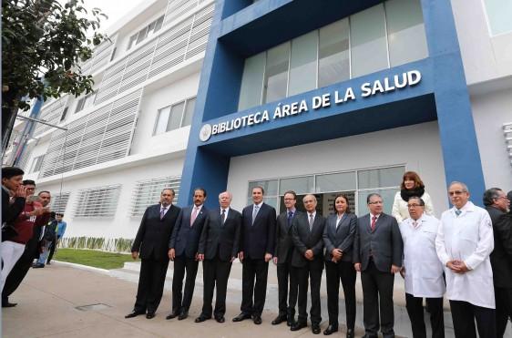 La suma de esfuerzos de la federación, la universidad y del gobierno del estado, nos permite alcanzar metas que difícilmente hubiéramos podido lograr, gobernador Rafael Moreno Valle