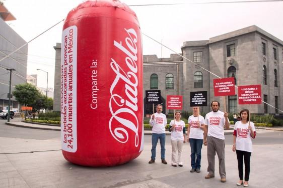 Piden a Secretaría de Salud una campaña nacional para advertir del riesgo que significa el consumo habitual de estas bebidas.