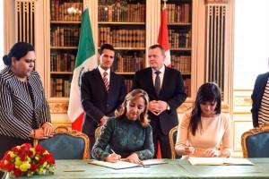 Acuerdo de Cooperación sobre Capacitación en diabetes para Personal del Sector de Atención Primaria en México, entre la Secretaría de Salud de los Estados Unidos Mexicanos, la Universidad de Copenhague y el Hospital Universitario de Odense del Reino de Dinamarca.