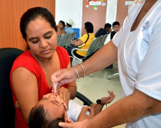 Por los resultados de las Semanas Nacionales de Salud en México, la OMS realiza la Semana Mundial de Inmunización
