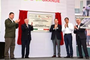 El Secretario de Salud, José Narro, inauguró esta unidad especializada, única en su tipo en México y América Latina