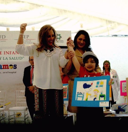 """El programa """"Sigamos aprendiendo… en el hospital"""" se desarrolla con el esfuerzo del Voluntariado Nacional de la Secretaría de Salud"""