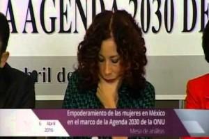 """Mesa de análisis """"El empoderamiento de las mujeres en México, en el marco de la Agenda 2030 de la ONU"""""""