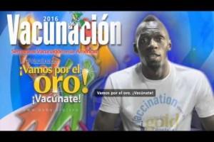 """""""Vamos por el oro. Vacúnate"""", inicia Semana de Vacunación en las Américas"""