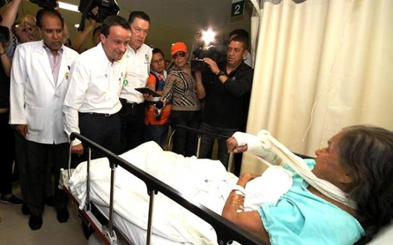 El Director General, Mikel Arriola, supervisó el lanzamiento del Plan Nacional en el Hospital General Regional número 2 de Villa Coapa.