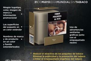 La campaña del Día Mundial sin Tabaco de este año destaca el poder del empaquetado neutro para reducir el atractivo de los productos de tabaco y neutralizar la información engañosa.