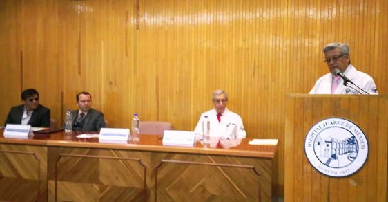 El doctor Martín Antonio Manrique firmó convenio de colaboración entre el HJM y la Iniciativa Responsabilidad Social Infantil.
