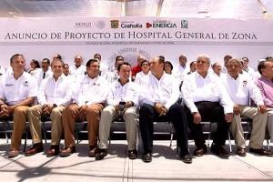 Forma parte de los 12 nuevos hospitales y las 40 Unidades de Medicina Familiar que el Instituto se comprometió a construir, en cumplimiento de la instrucción del Presidente de la República, Enrique Peña Nieto, de mejorar la calidad y calidez de los servicios.