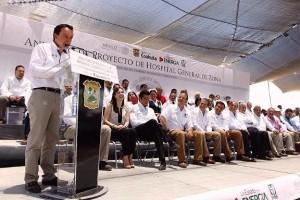 La mejor evidencia es la inversión de 20 mil millones de pesos en infraestructura del Seguro Social para el periodo 2016-2018: Mikel Arriola.