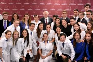 El Secretario de Salud se reunió con estudiantes de la Facultad de Ciencias de la Salud de la Universidad Panamericana