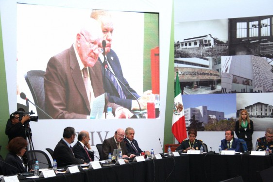 Manuel Mondragón y Kalb en la XIV Reunión Ordinaria del Consejo Nacional de Salud (CONASA)