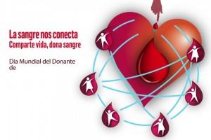 Anímate para juntos salvar vidas y alcanzar la meta del 100% de donantes voluntarios de sangre