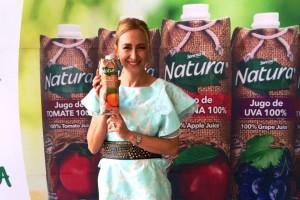 Dore Ferriz, Nutrióloga  y  Vocera jugos Natura
