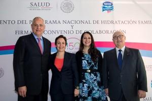 La estrategia iniciará el próximo 24 de julio, que se conmemora el Día Nacional de la Hidratación Familiar. Constará de una gira informativa con medios de comunicación en Guadalajara, Monterrey, Toluca y Querétaro.