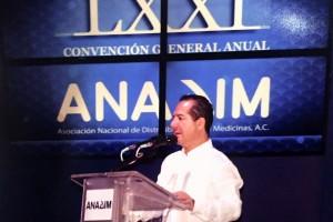 El Comisionado Federal, Julio Sánchez y Tépoz, inauguró la LXXI Convención General Anual de la Asociación Nacional de Distribuidores de Medicinas.