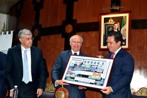 La Comisión Nacional de Arbitraje Médico, una de las instituciones fundamentales en la estructura de la salud de México, Dr.: José Narro Robles.