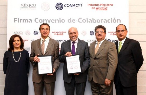 El CONACyT y la Industria Mexicana de Coca-Cola llevan 40 años de colaborar en beneficio de la sociedad mexicana.
