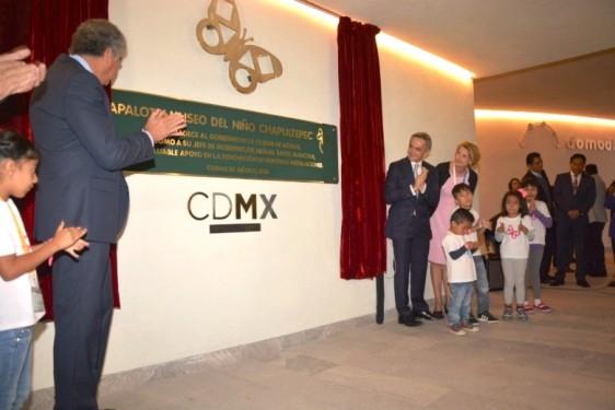 Para esta gran apertura, se contó con la presencia del Dr. Miguel Ángel Mancera Espinosa, Jefe de Gobierno de la Ciudad de México, y más de 1,500 niños invitados provenientes de diversas organizaciones civiles como la Junta de Asistencia Privada, el DIF local y la Secretaría de Desarrollo Social de la Ciudad de Mexico.