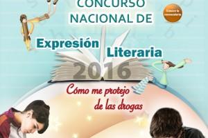 """Concurso Nacional de Expresión Literaria 2016 """"Cómo me Protejo de las Drogas"""""""