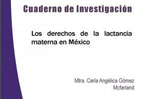 """investigación """"Los derechos de la lactancia materna en México"""""""