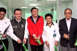 Se han invertido 50 millones de pesos en hospitales y unidades médicas de la entidad. Tlaxcala es el estado con mayor nivel de abasto de medicamentos, con 99% en el surtimiento de recetas.