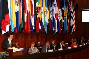 Con la representación del Presidente de la República, Enrique Peña Nieto, el Director General del IMSS, Mikel Arriola, inauguró hoy la XXVIII Asamblea General de la Conferencia Interamericana de la Seguridad Social (CISS), a la que asisten representantes de 36 países de la región.