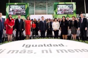 Con la participación de las mujeres, México será en el siglo XXI una nación más libre, de mayor desarrollo y mayor prosperidad, Presidente Enrique Peña Nieto