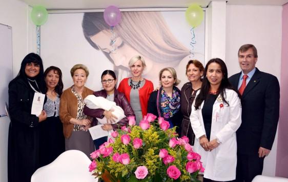 La nueva instalación beneficiará a todas las madres de la zona, quienes recibirán orientación para la correcta alimentación de los recién nacidos.