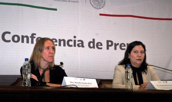Michelle Charlier Kuri y Elizabeth Pérez Cruz