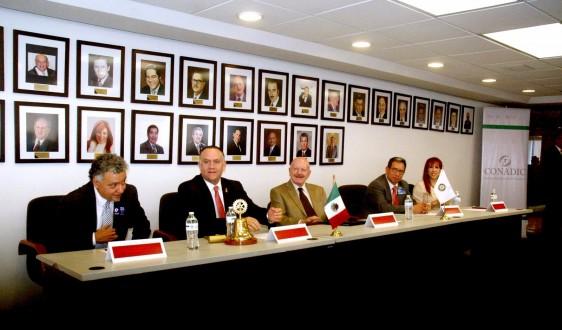 Firma de Convenio Conadic Rofarry Internacional Distrito