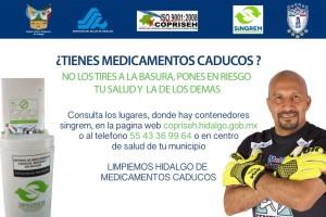 """Campaña """"Limpiemos Hidalgo de Medicamentos Caducos"""""""