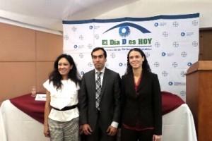 Dra. Fabiola Hernández, Dr. José Luis Rodríguez y y Dra. Vanesa Flores