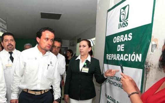 Anuncia además la construcción de dos clínicas en Celaya y León, así como diez guarderías para atender la creciente demanda de servicios médicos de los derechohabientes, por el repunte del empleo en la región del Bajío.